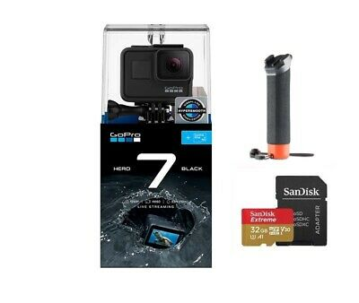 GoPro HERO 7 BLACK with 32G Sandisk Card + GoPro The Handler