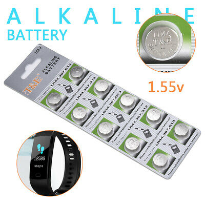 10pcs New 1.5V GP LR44 AG13 A76 SR66 Button Cell Coin Battery Pack