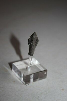 ANCIENT GREEK BRONZE SOCKETED  ARROWHEAD 4/3rd CENTURY BC