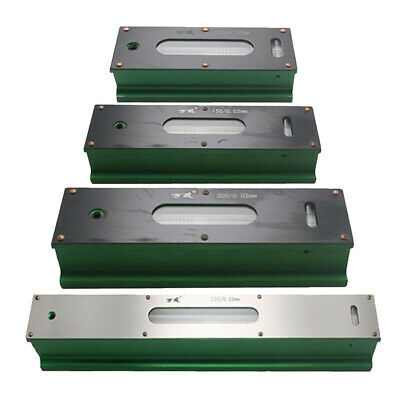 Precision Level Bar Leveler, High Accuracy 0.02mm, with Storage Wooden Case