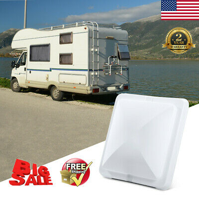 Universal Car Replacement RV Roof Vent Cover Lid Camper Trailer Motorhome 14X14""