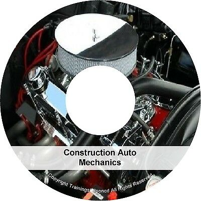 Learn About Auto Mechanic Engine Mechanics Steering Brakes PDF Manuals on CD