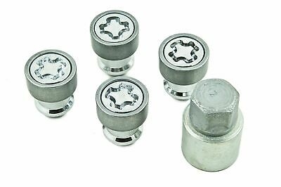 GENUINE Nissan Qashqai Juke Micra X-Trail Cube Alloy Wheel Nut Locking Kit Set