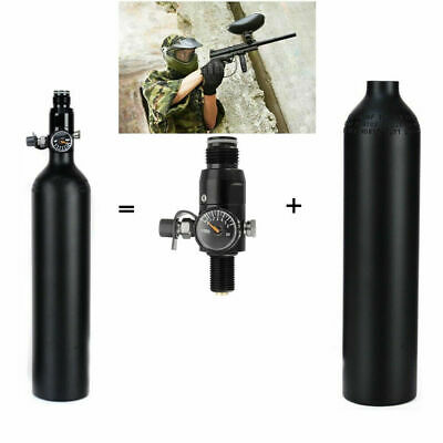 4500psi High Compressed CO2 Cylinder Paintball+HPA Air Tank 2200psi Regulator