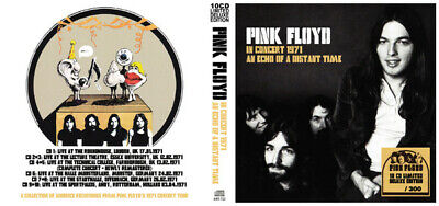 Pink Floyd ‎– In Concert 1971 An Echo Of A Distant Time 10 CD Limited Edition