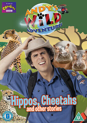 Andy's Wild Adventures: Hippos, Cheetahs and Other Stories DVD (2017) Andy Day