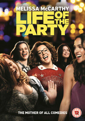 Life of the Party DVD (2018) Melissa McCarthy ***NEW***