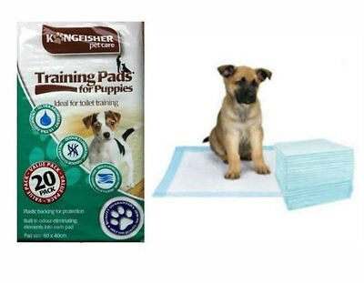 Large 20 Dog Puppy Pet Pee Potty Toilet House Training Ultra Absorbent Pads
