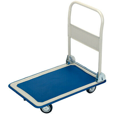 Draper Platform Hand Trolley Truck Sack Cart Flat Bed Folding Heavy Duty 150kg