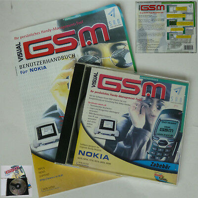 Handymanagement Software - Cd Visual Gsm Für Kia 6210 6250 7110 8210 8850 8890