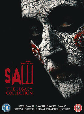 Saw: The Legacy Collection DVD (2018) Leigh Whannell ***NEW***