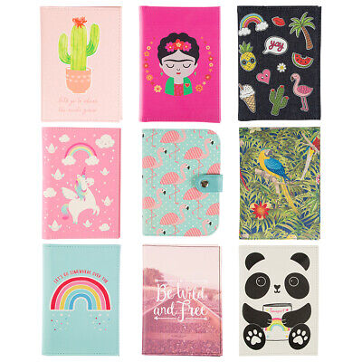 Passport Holder Cover With Credit Card Slots Travel Wallet Document ID Gift