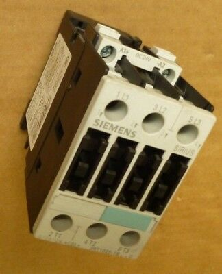 Siemens  Motor Contactor  Sirus 3RT1025-1B..0  24V DC 7.5Kw 17A 3-pole Din Rail