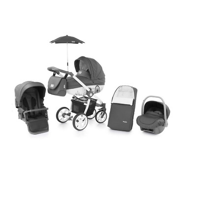 Babystyle Prestige Horizon with Active chassis Car seat bag footmuff parasol