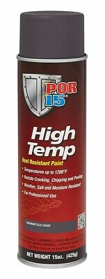 POR-15® 44218 High Temp, Heat Resistant, Manifold Gray 15 oz. Spray