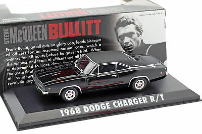 Dodge Charger R / T Steve McQueen aus dem Film Bullitt 1968 1:43 Greenlight