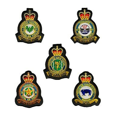 Royal Air Force RAF Station Squadron Tornado MOD Approved Embroidered Patches