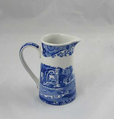 Spode Blue Italian Creamer Cream Pitcher 4.75""