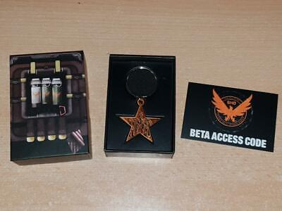 The Division 2 Limited Edition Star Promotional Keyring Keychain