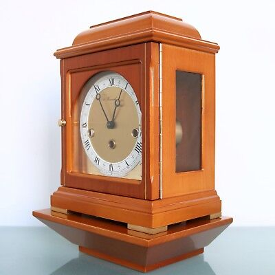 WARMINK HERMLE TOP! Mantel Clock + Console HIGH GLOSS Dutch/Germany Westminster!