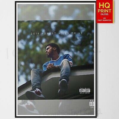 2014 Forest Hills Drive Music Album Cover J Cole Art Poster | A4 A3 A2 A1 |