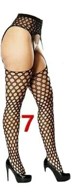 Women Lady Suspender Tights Stocking Fishnet Pantyhose Lace Stockings Sexy