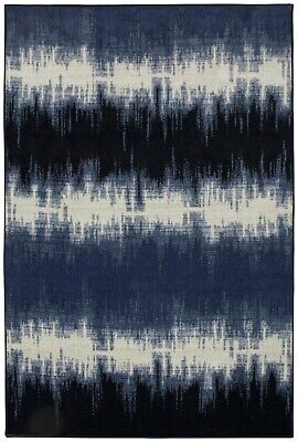 Mohawk Prismatic Echo 8' X 10' Large Area Rug in Navy
