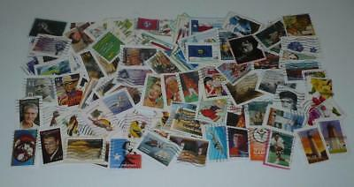 Lot of 100 Used Forever Stamps