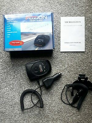Radar/laser Detector From Fuzion Includes Manual