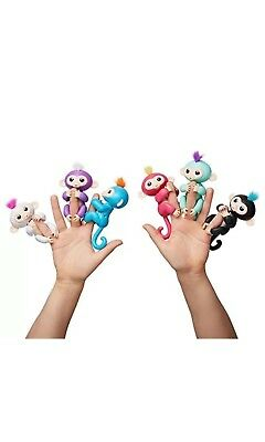 Fingerlings Baby Monkey Brand New Interactive Toy Electronic Finger Pet (UK)