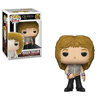 Funko - POP Rocks: Queen - Roger Taylor Brand New In Box