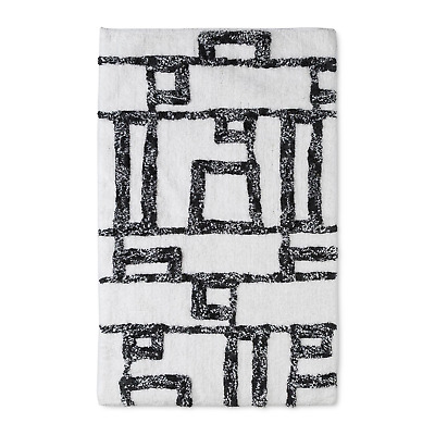 f006f1c0eff8 SCULPTED WAVE BATH Rug White Casual Pink - Project 62 20