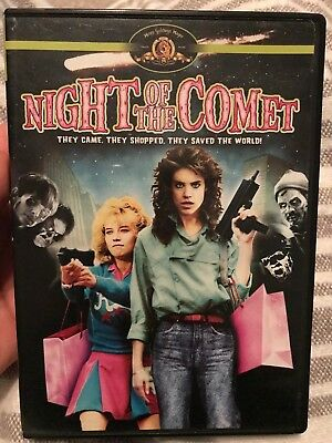 NIGHT OF THE COMET (1984) DVD OOP! RARE! (MGM, 2007) Stewart Maroney cult sci-fi