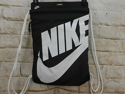 d5d57da68e New Nike Heritage Drawstring Backpack GymSack Bag Elite Exploded Logo