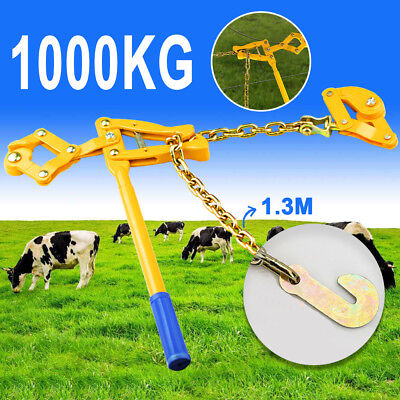 Fencing Strainer Plain Barbed Wire Electric Fence Energiser Chain Repair Tool
