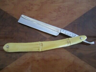 L & F Industries~#64~Shave Ready~Excellent Condition~Original Faux Bamboo Scales