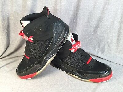 newest d3152 2a7ee 2012 Nike Air Jordan Son Of Mars Retro BLACKOUT Red Cement 512245-001 11.5