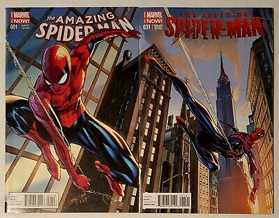 THE SUPERIOR SPIDER-MAN #31 J SCOTT CAMPBELL VARIANT MARVEL 2014 1st print NM