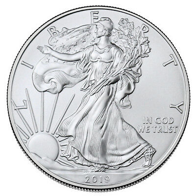 2019 American Statue of Liberty Eagle Iron Commemorative Coin Collection Gift