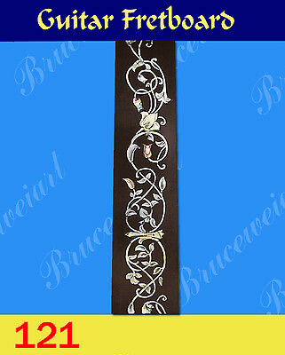 Free Shipping, Guitar Part - Rosewood Fretboard w/ MOP Inlay (G-121a-5)