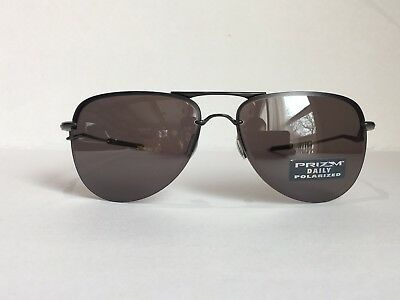 3730b4fe859 NEW! OAKLEY TAILPIN Sunglasses Carbon Prizm Daily Polarized oo4086 ...