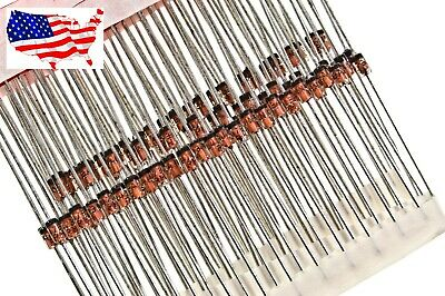 ' 1N4733A (10 pcs) 1W 5.1V ZENER DIODE - from USA