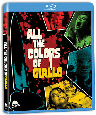 Blu Ray ALL THE COLORS OF GIALLO 3 disks!  Like New Bava Martino Argento Fulci