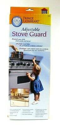 "Prince Lionheart Stove Baby Guard Child Safety Kitchen Ware 24"" to 36"" New"
