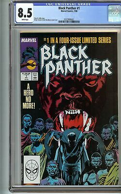 Black Panther 1 CGC 8.5 Limited Series T'CHALLA 1st app MAN-CAT Avengers ENDGAME