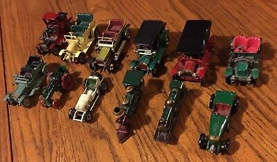 Matchbox-Lensey Cars From The 1960'S  Loose Ready To Restore (Box B)