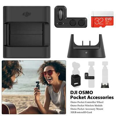 Original DJI OSMO Pocket Expansion Kit Wireless Module Controller Wheel +32GB SD