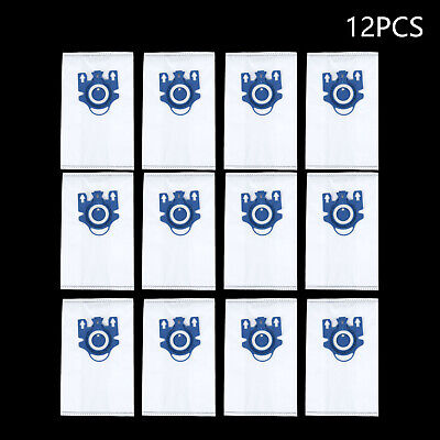 12pcs For Miele GN Hyclean 3D Efficiency Vacuum Hoover Cleaner Dust Bags Supply