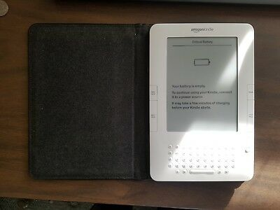 AMAZON KINDLE 2ND Gen 3G Wifi eReader D00511 Used Condition Works