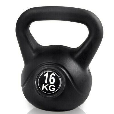 Kettle Bell 16KG Training Weight Fitness Gym Exercise Kettlebell Dumbell @HOT